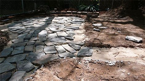 How to Build a Flagstone Patio - Designs for Flagstone Patio