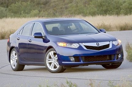 acura and zombiedrive tsx information photos