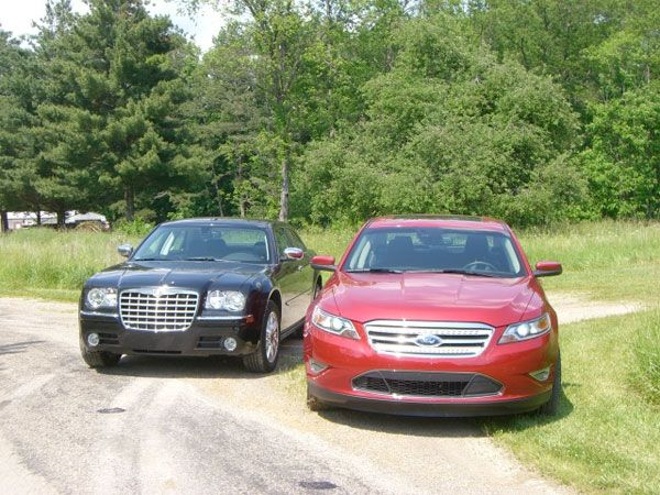 Exclusive 2010 Ford Taurus Sho Vs 2009 Chrysler 300c Test Drive