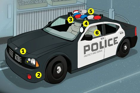 6 Mods For The Ultimate High Tech Police Car