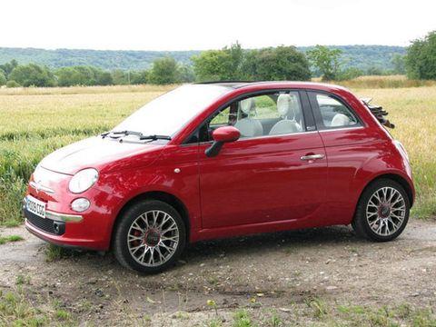 2010 Fiat 500C Convertible