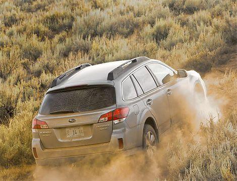 2010 Subaru Outback Test Drive