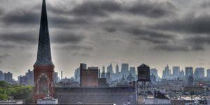 HDR Brooklyn clouds
