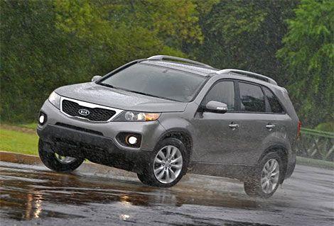 Kia Sorento Mpg >> 2011 Kia Sorento Test Drive Car Like Crossover Hits 29 Mpg