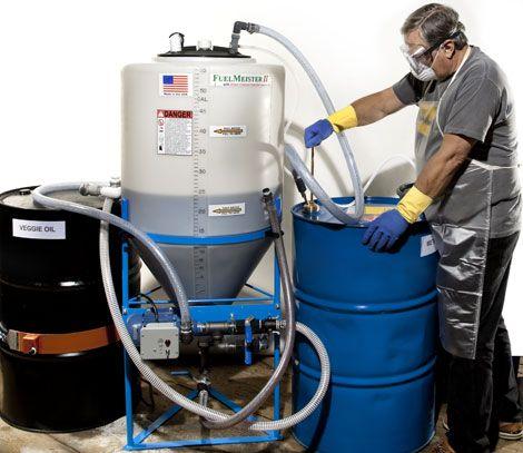 How to Make Biodiesel - Making Biodiesel Kits