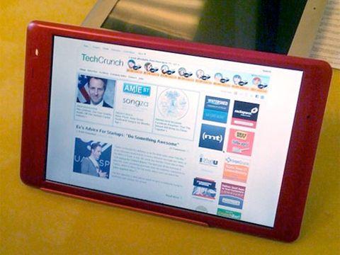 tech crunch tablet