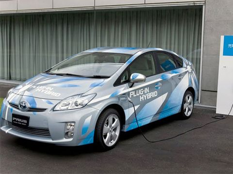 2017 Toyota Plug In Pre Production Prius