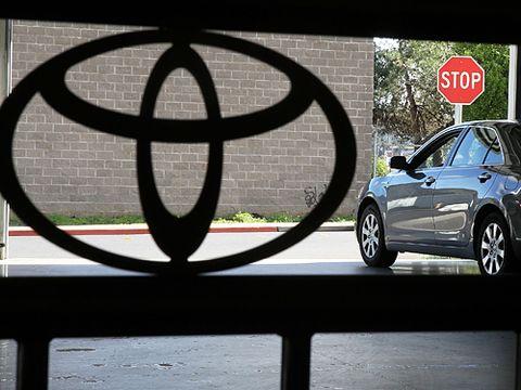 Toyota Logo Sudden Acceleration Recall