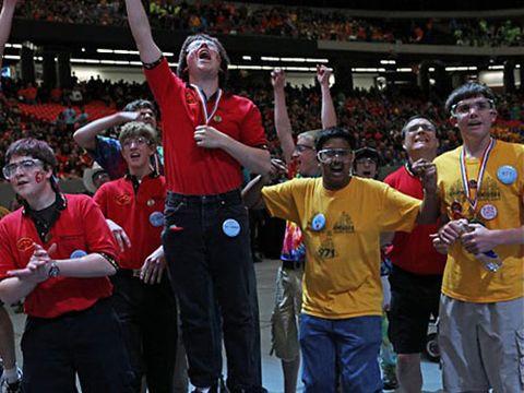 Social group, Fan, Celebrating, Team, Cheering, Stadium, Award, Gesture, Arena, Crew,