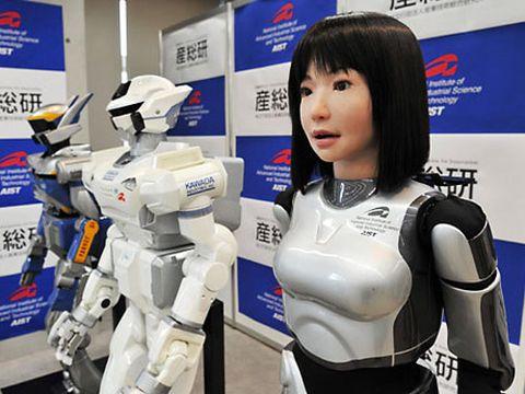 Technology, Bangs, Fictional character, Logo, Machine, Glove, Costume, Mecha, Advertising, Robot,