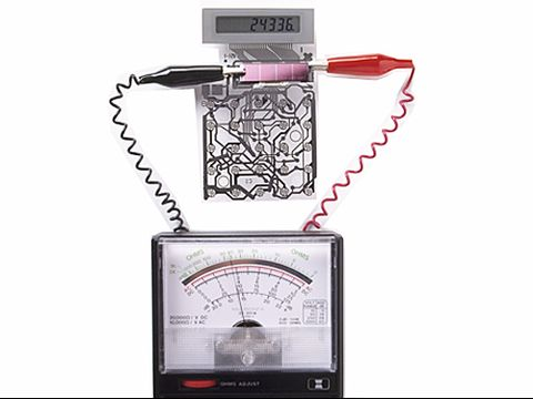 Solar Power Circuit Self Charges