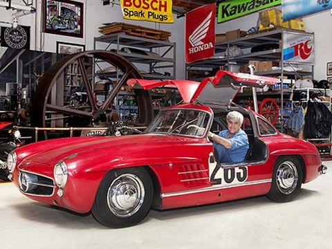 jay leno s 1955 mercedes benz 300sl gullwing restoration