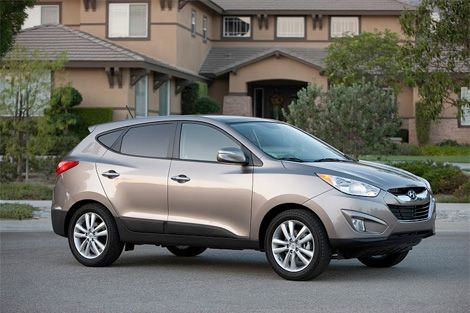 2010 Hyundai Tucson Solid Crossover But Good Enough To Topple Compeion