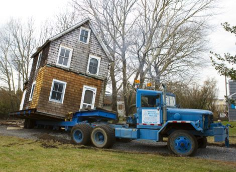 How To Move A 120 Year Old House
