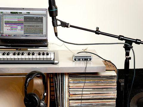 how to set up the ultimate desktop recording studio. Black Bedroom Furniture Sets. Home Design Ideas