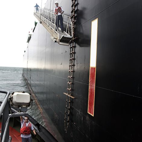 On Board the World's Most Powerful Tugboat