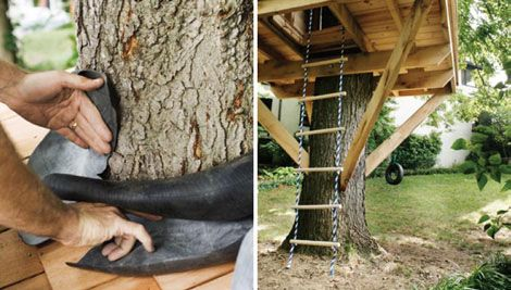 How To Build A Treehouse For Your Backyard Diy Tree