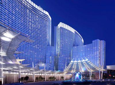 the hightech luxury surveillance hotel aria resort