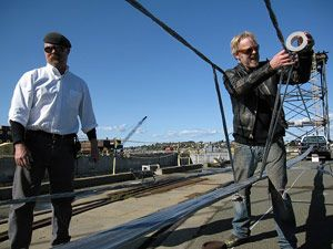 In Last Seasons Duct Tape Special MythBusters Jamie Hyneman And Adam Savage Constructed A Boat Out Of It Didnt Sink