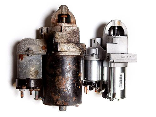 diy car starter motor replacement how to replace a starter motor drive pinion gear this gear reduction starter (left) is a lightweight drop in replacement for the older starter that failed by spinning the armature faster and reducing its
