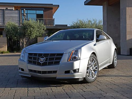 The New 2011 CTS Coupe Should Have Been A 2010 Modelu2014but It Was Put On  Iceu2014frozen For A Full Year.