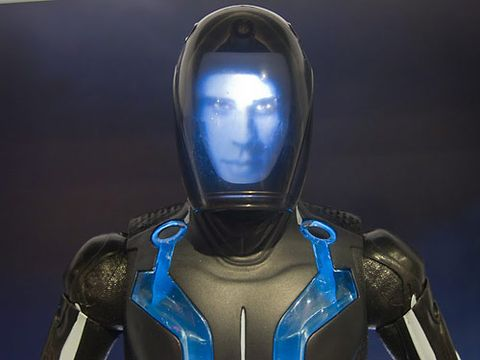 the faces of tron