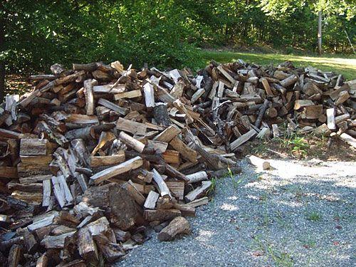 Lots Of Split Wood
