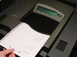 Model 100 Precinct Scanner