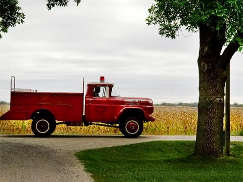 1959 Ford firetruck