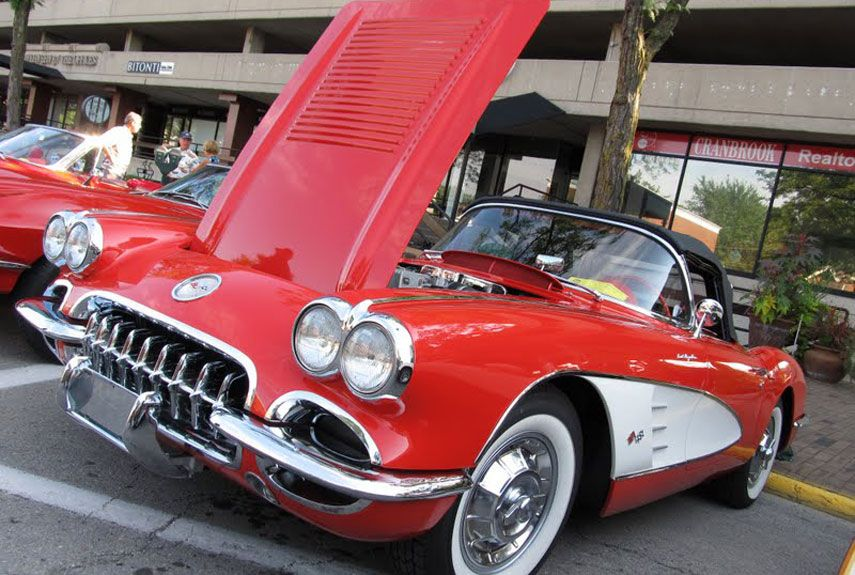 Top 20 Cars At Detroit S Woodward Dream Cruise