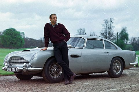 1964 Aston Martin DB5, <em>Goldfinger</em>