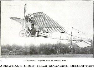 Aeroplane Built From Magazine Description