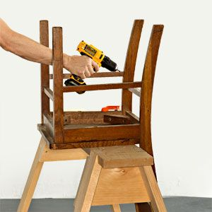 At least half of the wood chairs we own are wobbly. Weu0027ve tried every adhesive we can think of to fix themwhite glue yellow glue epoxy polyurethane.  sc 1 st  Popular Mechanics & How to Fix Those Pesky Wobbly Chairs