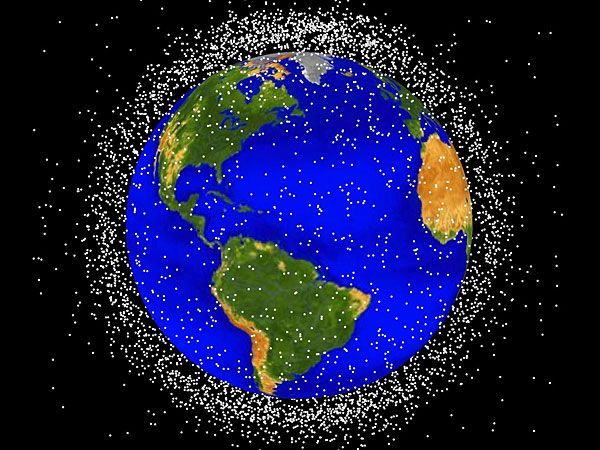 If We Don't Act Soon, Space Junk Might Trap Us On Earth