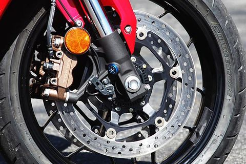 Honda Motorcycles Combined ABS