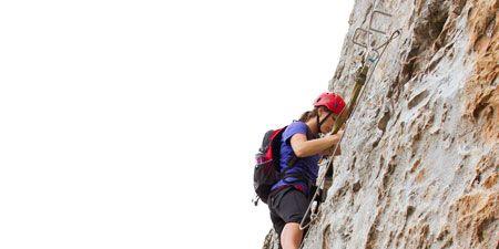 Recreation, Rock-climbing equipment, Helmet, Adventure, Mountaineer, Outdoor recreation, Climbing, Climbing harness, Rock, Rock climbing,