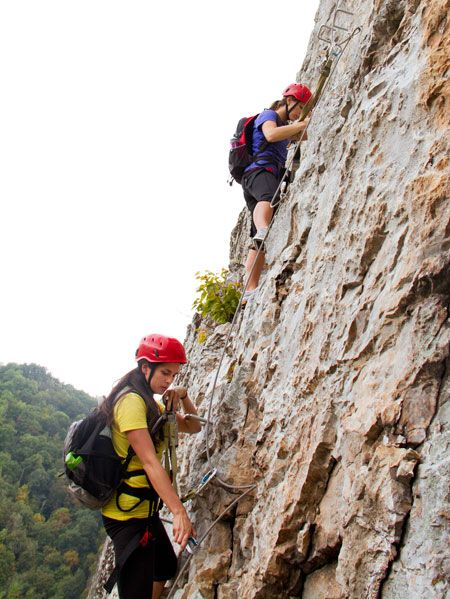 Recreation, Rock-climbing equipment, Helmet, Adventure, Mountaineer, Outdoor recreation, Climbing, Climbing harness, Rock, Rock climbing,