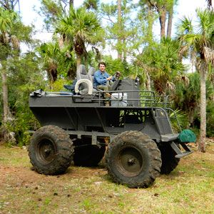 Swamp Buggy Drive Through the