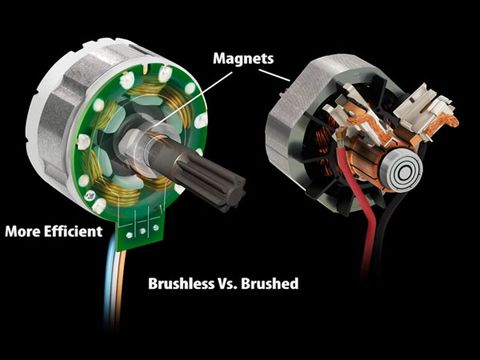 What 39 s so great about brushless motor power tools tools for How to make a brushless dc motor
