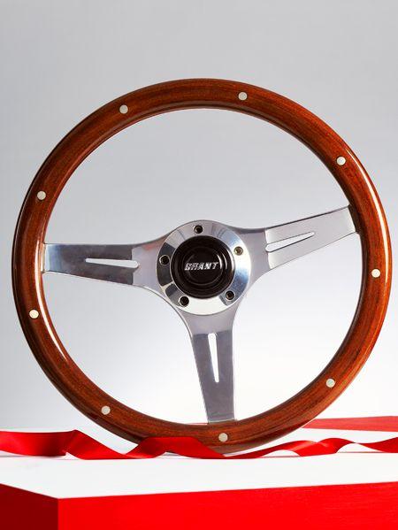 Grant Mahogany Collector's Edition Steering Wheel /// $330