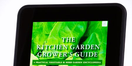 Amazon Kindle Fire HD /// $200 + The Kitchen Garden Grower's Guide /// $10