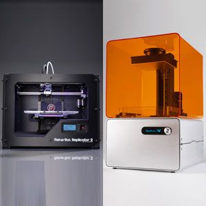 3D Printer Prizefight: MakerBot Replicator 2 vs Formlabs Form 1