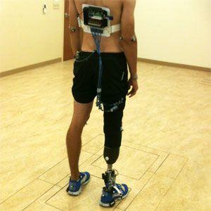 feedback system lets amputees feel prosthetic leg