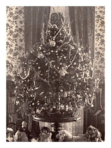 Beautiful ... As A Safe Alternative To Candles, But That Changed After President  Grover Cleveland Featured The First Electrically Lit White House Christmas  Tree.