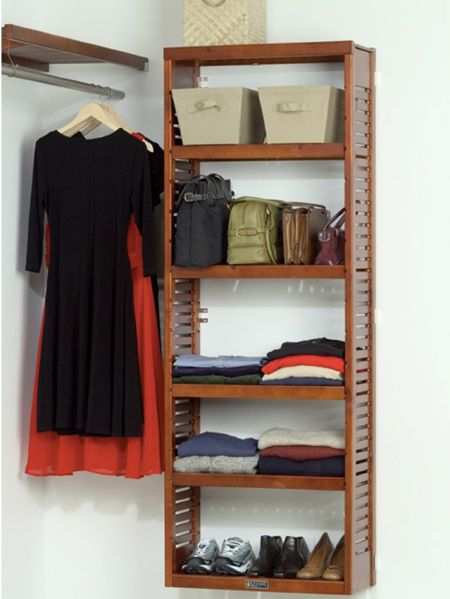 Double Your Closet Storage