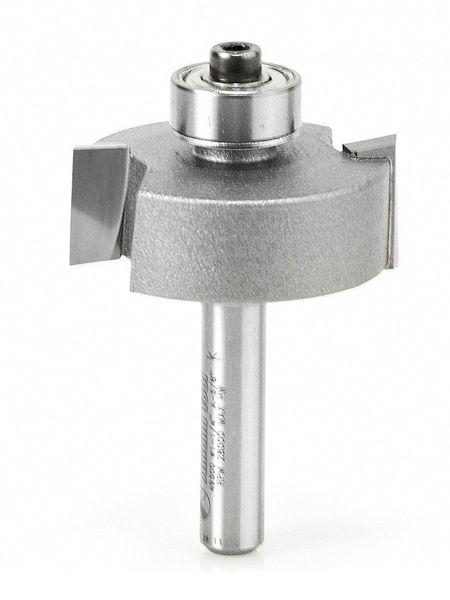 Fullerton Tool 37524 6mm Diameter x 6mm Shank x 10mm LOC x 50mm OAL 5 Flute FC20 Solid Carbide Radius End Mill