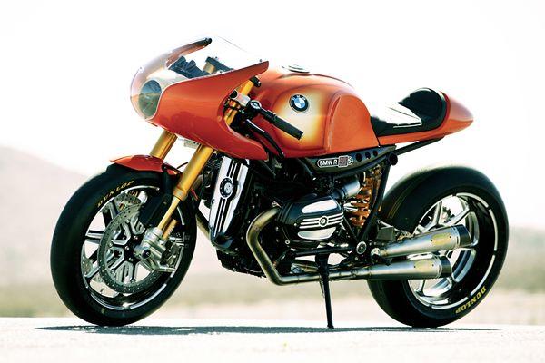 BMW Ninety Motorcycle Concept: A Beemer Café Racer, via Roland Sands