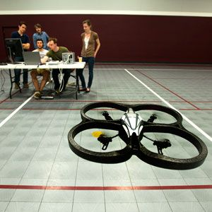 Piloting a Quadcopter With the Power of Thought