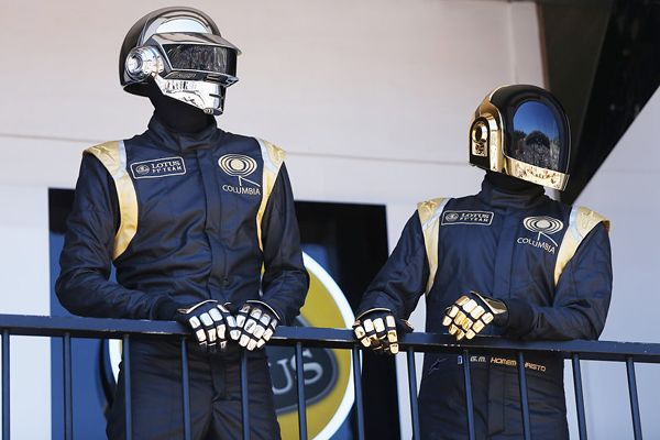 Behind the Lotus Formula 1 Team's Unlikely Union With Daft Punk