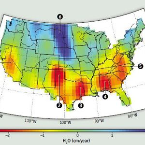 Satellites Identify Hotspots For Drought In Coming Years - Map of aquifers in us